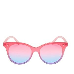 Betsey Johnson Accessories - BETSEY JOHNSON OFF THE GRID SUNGLASSES PINK OMBRE